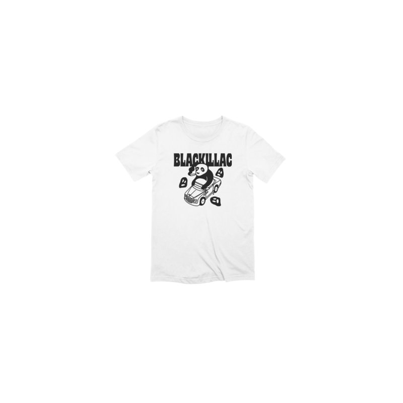Phantom Bear Stamp Tee Men's T-Shirt by Blackillac's Black Market