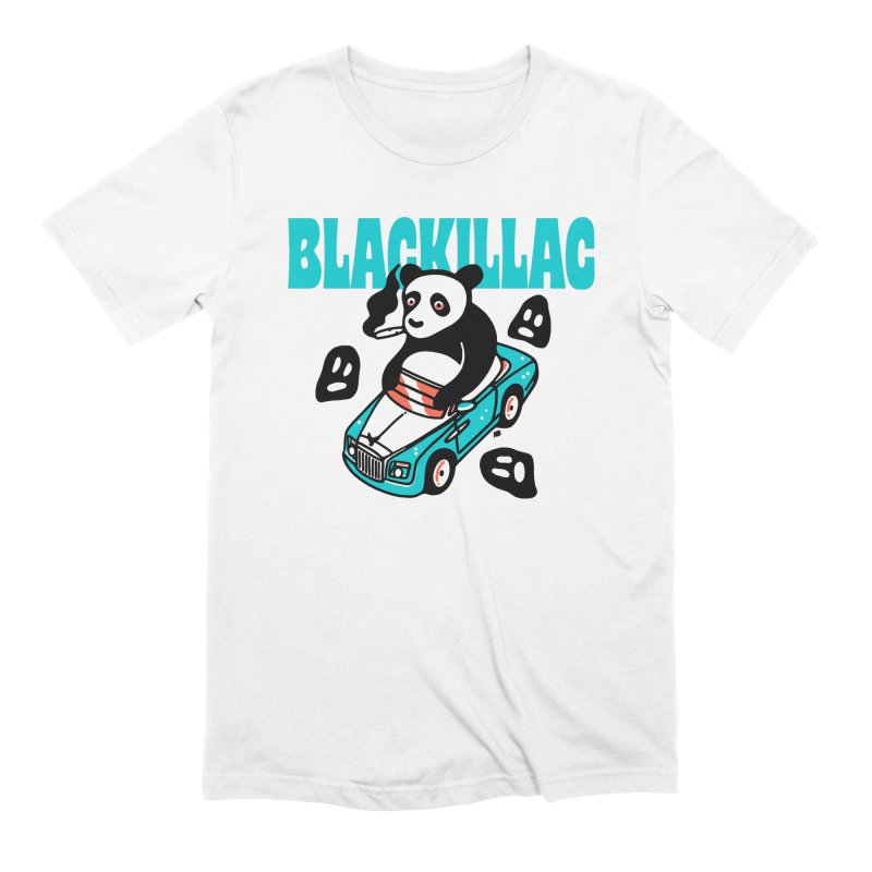 Phantom Bear Tee in Men's Extra Soft T-Shirt White by Blackillac's Black Market