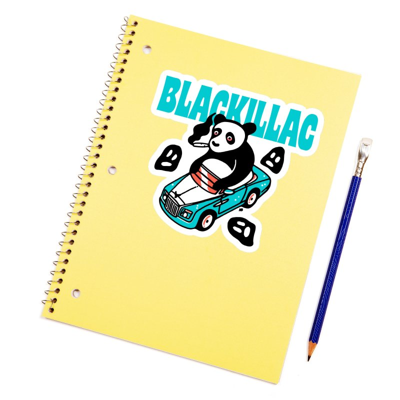 Phantom Bear Sticker Accessories Sticker by Blackillac's Black Market