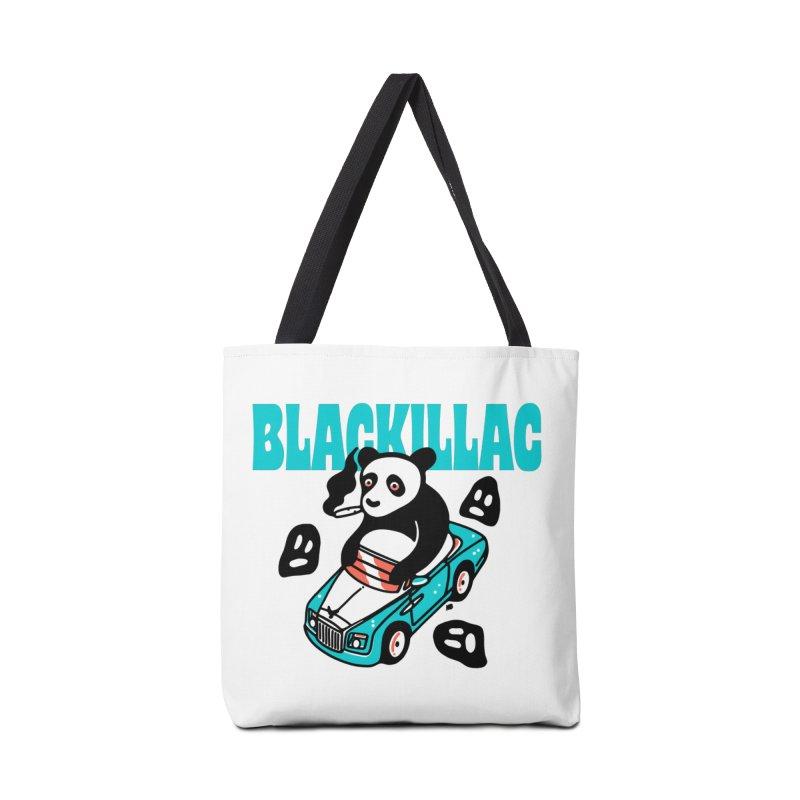Phantom Bear Tote Accessories Bag by Blackillac's Black Market