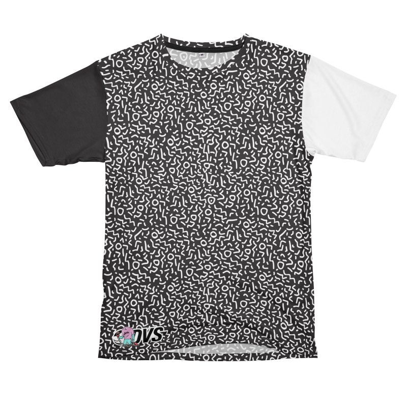 DVS + Blackillac - Split Decision in Men's T-Shirt Cut & Sew by Blackillac's Black Market