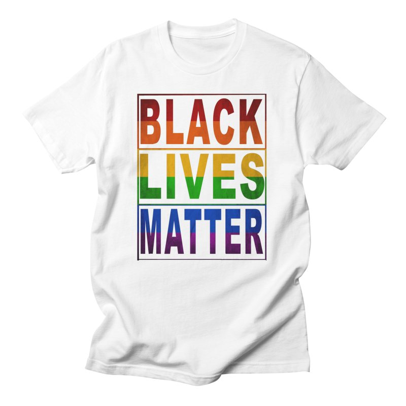 Black Lives Matter - Pride Men's French Terry Zip-Up Hoody by Cool Black Chick