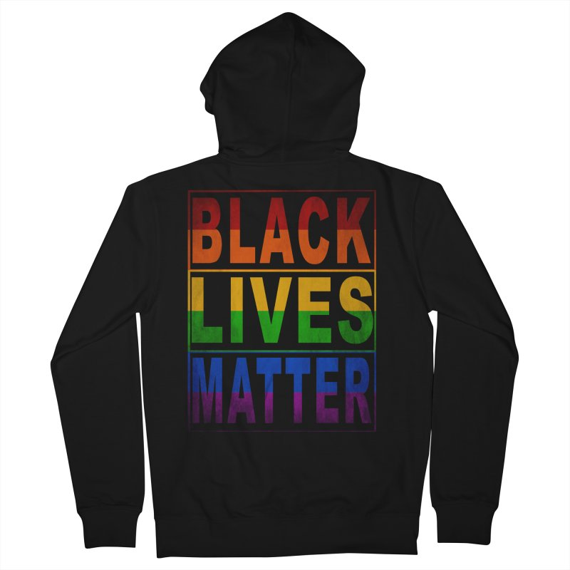 Black Lives Matter - Pride Women's French Terry Zip-Up Hoody by Cool Black Chick