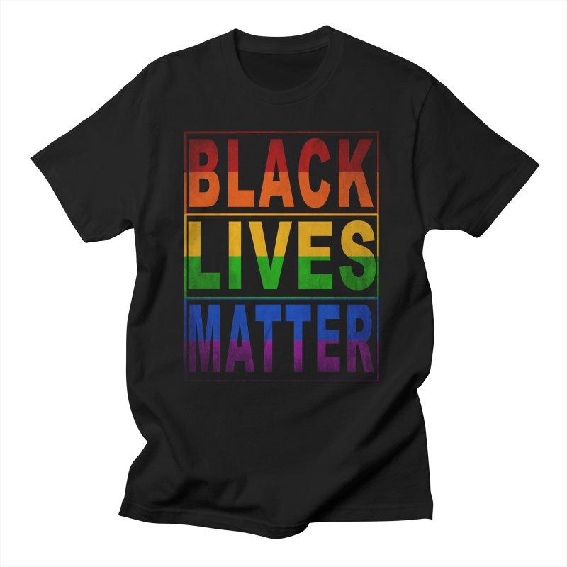 Black Lives Matter - Pride Women's Regular Unisex T-Shirt by Cool Black Chick