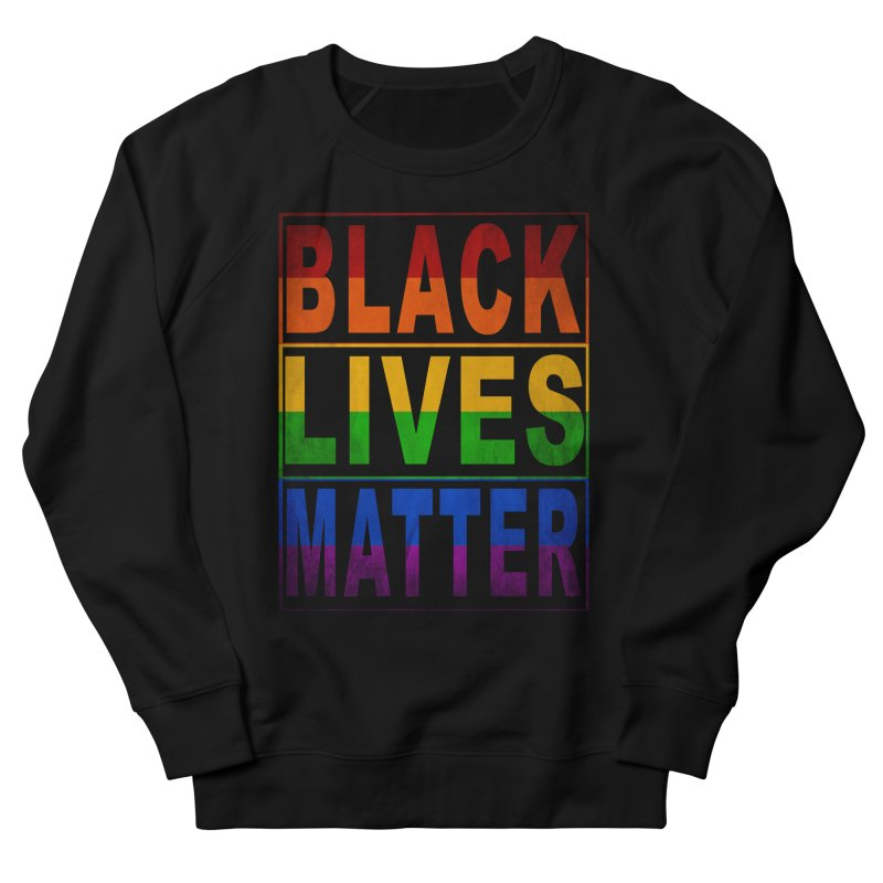 Black Lives Matter - Pride in Women's French Terry Sweatshirt Black by Cool Black Chick