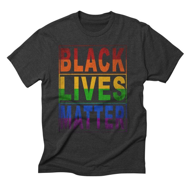 Black Lives Matter - Pride Men's Triblend T-Shirt by Cool Black Chick