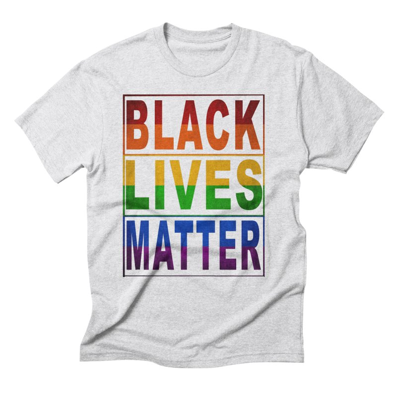 Black Lives Matter - Pride Men's Triblend T-Shirt by Cool Black Chick