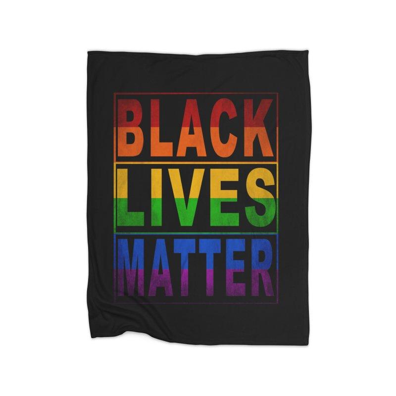 Black Lives Matter - Pride Home Blanket by Cool Black Chick