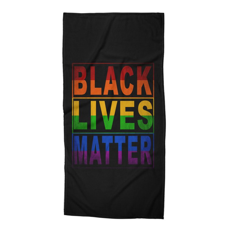 Black Lives Matter - Pride Accessories Beach Towel by Black Liberation