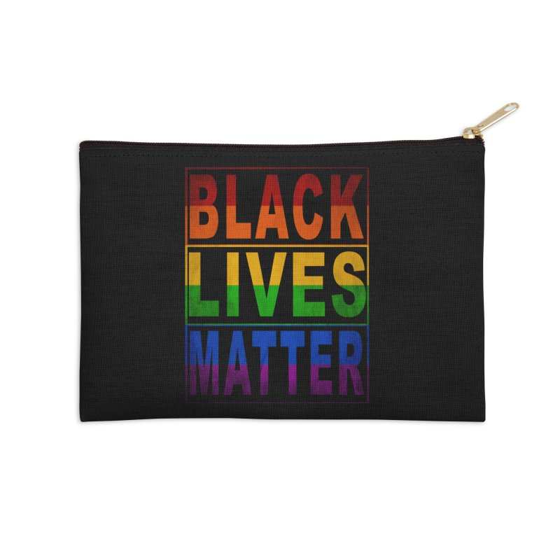 Black Lives Matter - Pride Accessories Zip Pouch by Black Liberation