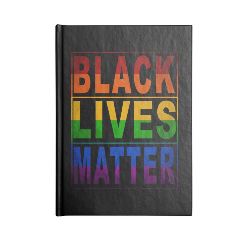 Black Lives Matter - Pride Accessories Notebook by Cool Black Chick