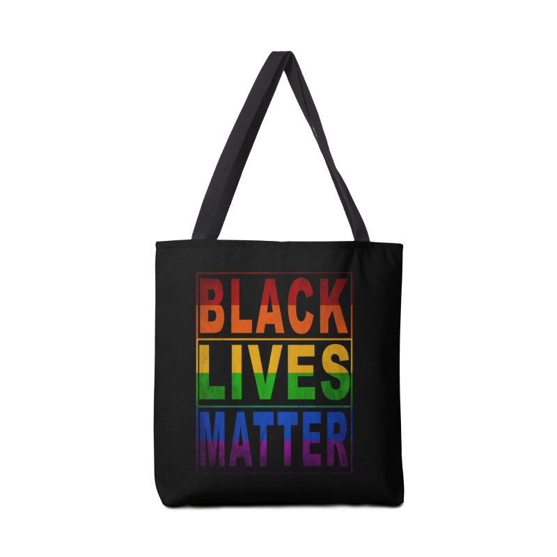 Black Lives Matter - Pride Accessories Tote Bag Bag by Cool Black Chick