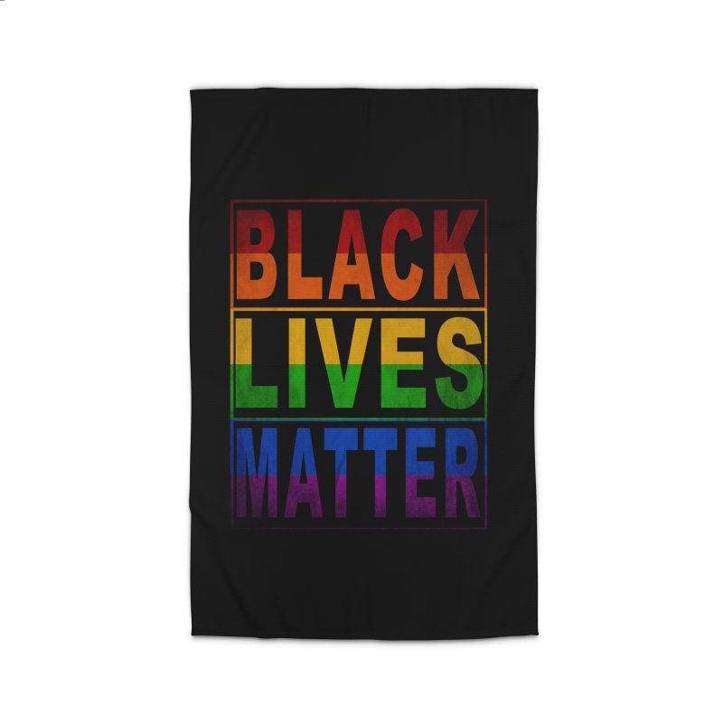 Black Lives Matter - Pride Home Rug by Cool Black Chick