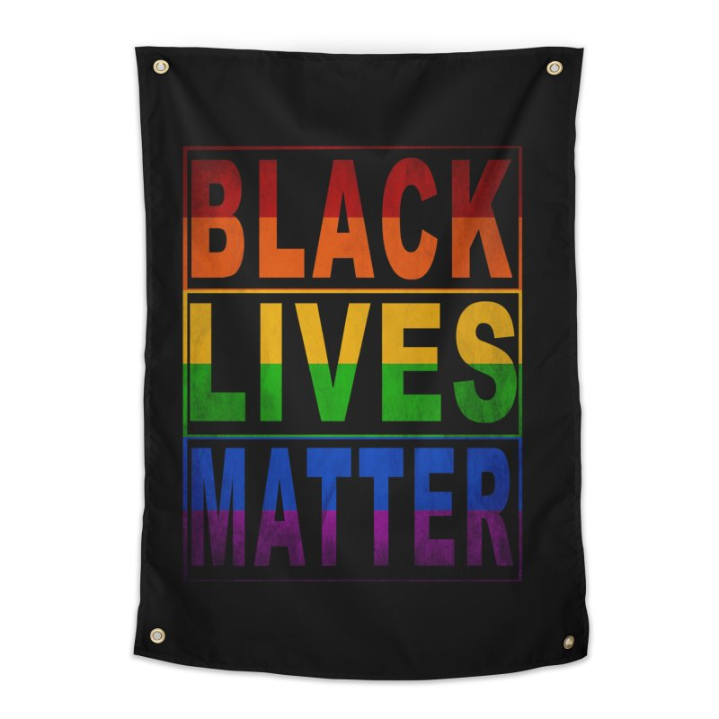 Black Lives Matter - Pride Home Tapestry by Cool Black Chick