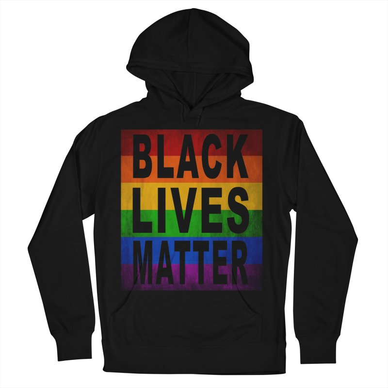 Black Lives Matter - Pride (2) Men's French Terry Pullover Hoody by Cool Black Chick
