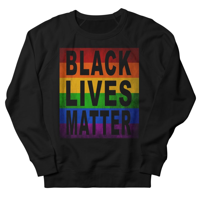 Black Lives Matter - Pride (2) Men's French Terry Sweatshirt by Cool Black Chick