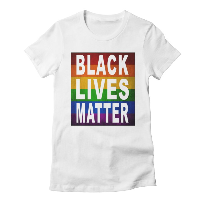 Black Lives Matter - Pride (2) Women's Fitted T-Shirt by Cool Black Chick