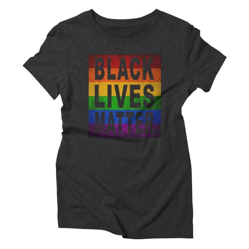 Black Lives Matter - Pride (2) Women's Triblend T-shirt by Black Liberation