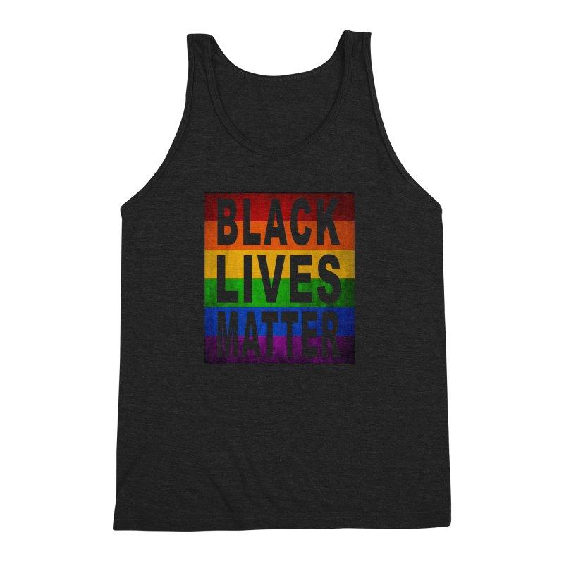 Black Lives Matter - Pride (2) Men's Triblend Tank by Black Liberation
