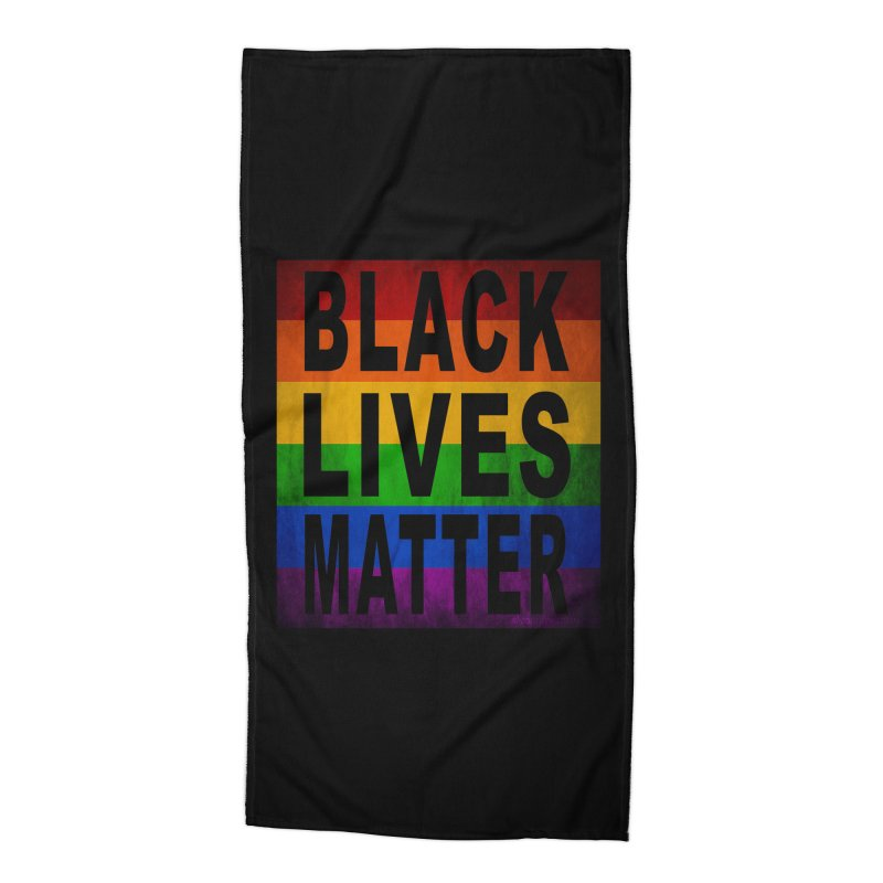 Black Lives Matter - Pride (2) Accessories Beach Towel by Black Liberation