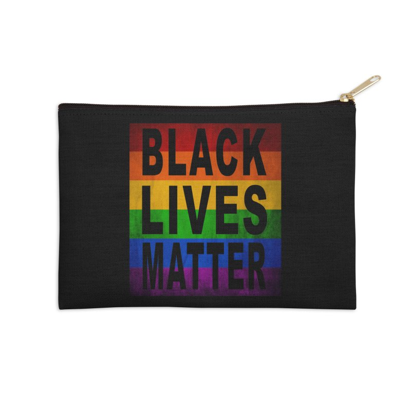 Black Lives Matter - Pride (2) Accessories Zip Pouch by Black Liberation
