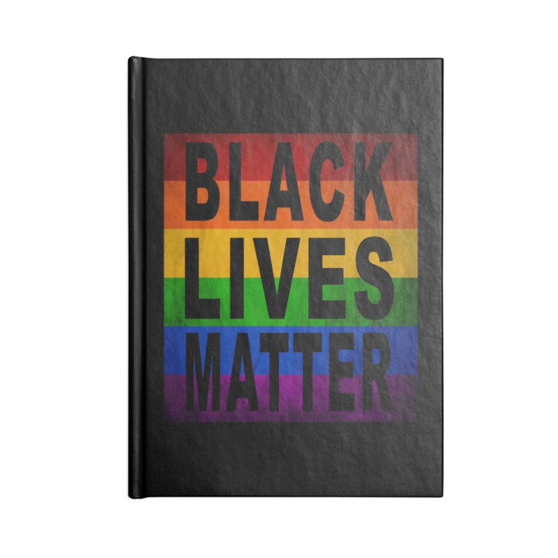 Black Lives Matter - Pride (2) Accessories Notebook by Cool Black Chick