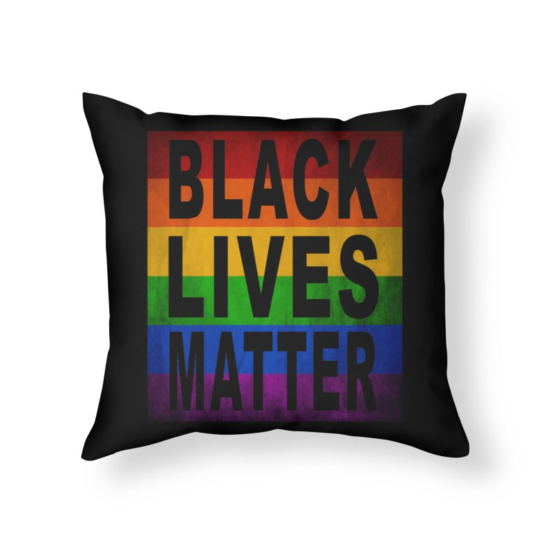 Black Lives Matter - Pride (2) Home Throw Pillow by Black Liberation