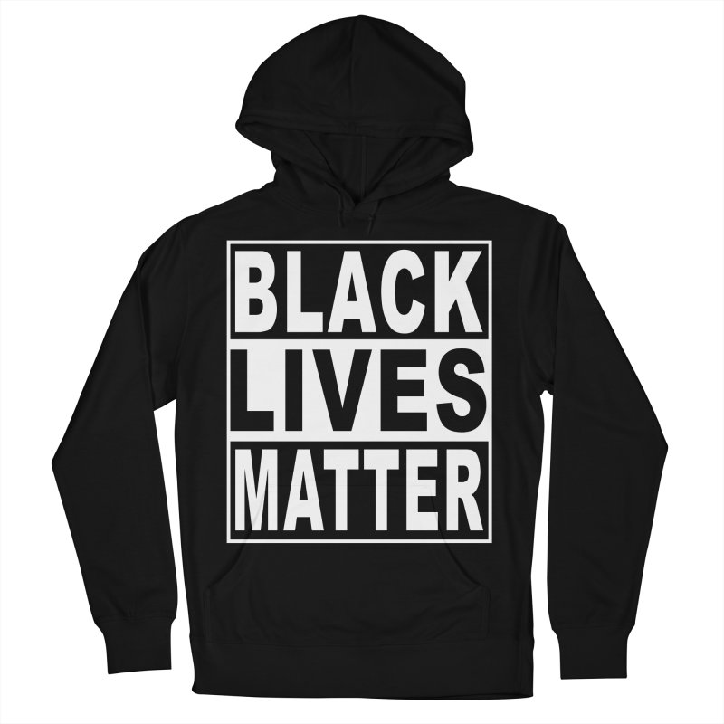 Black Lives Matter - Original Men's French Terry Pullover Hoody by Cool Black Chick