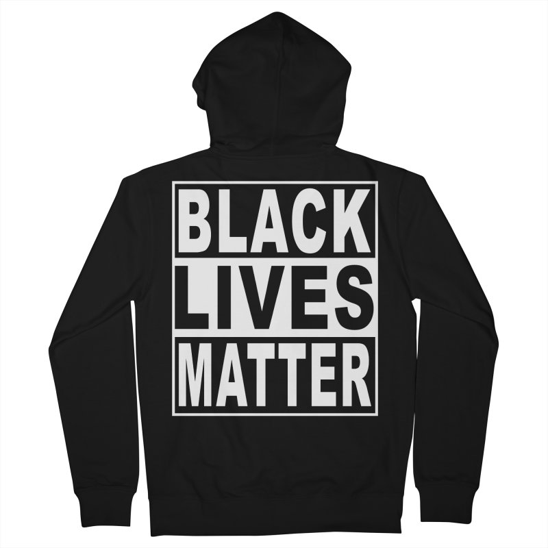 Black Lives Matter - Original Women's French Terry Zip-Up Hoody by Cool Black Chick