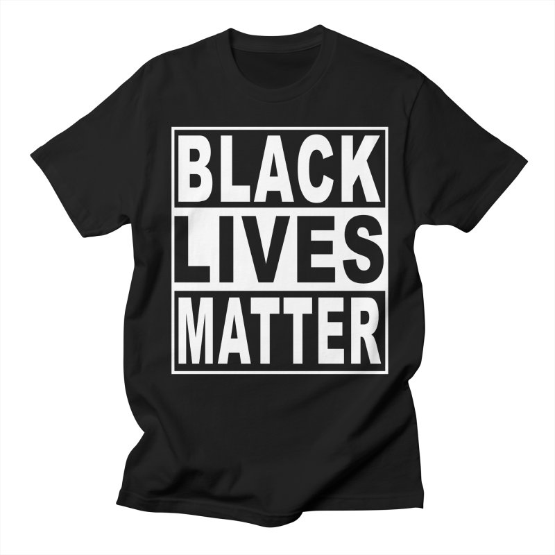 Black Lives Matter - Original in Men's Regular T-Shirt Black by Cool Black Chick