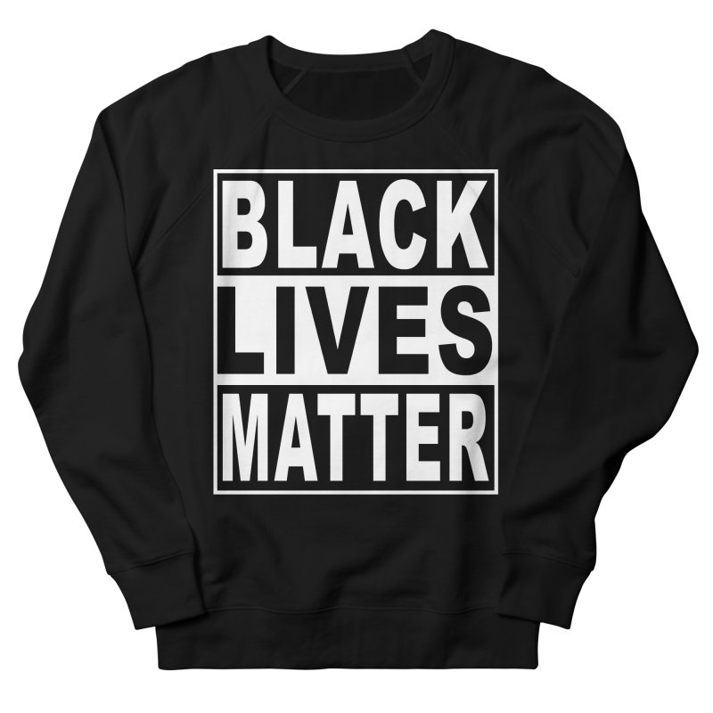 Black Lives Matter - Original Men's French Terry Sweatshirt by Cool Black Chick