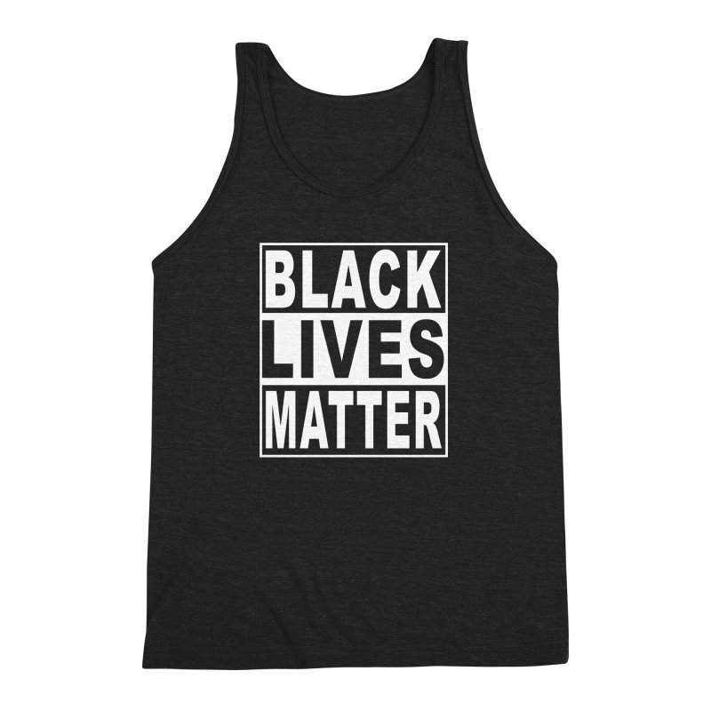 Black Lives Matter - Original Men's Triblend Tank by Cool Black Chick