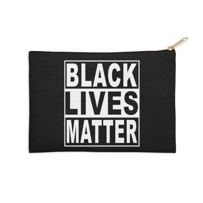 Black Lives Matter - Original Accessories Zip Pouch by Black Liberation