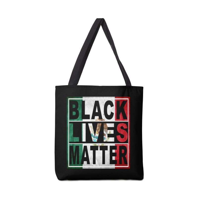 Black Lives Matter - Mexican Flag Accessories Bag by Black Liberation