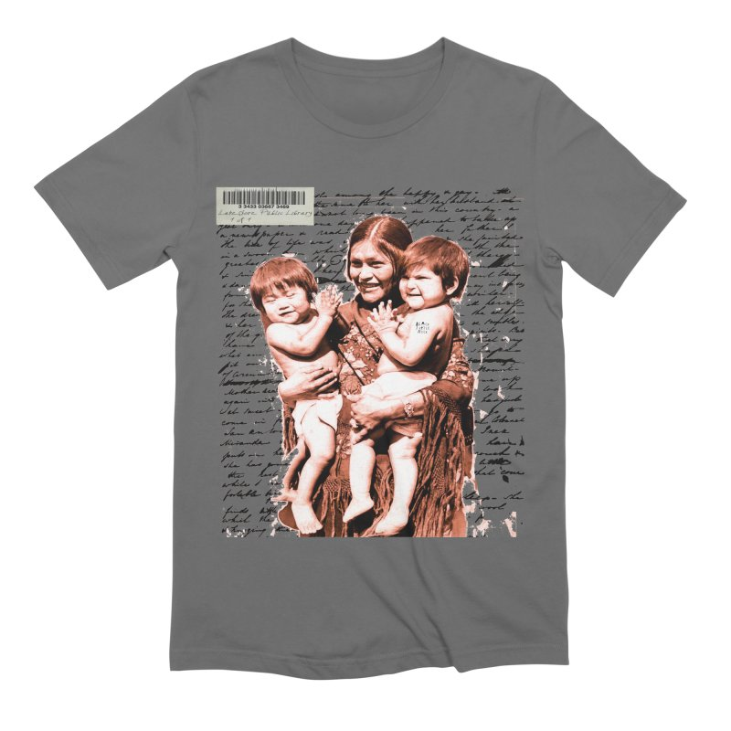 Shannon and her boys. Men's T-Shirt by BLACK TVRTLE NECK