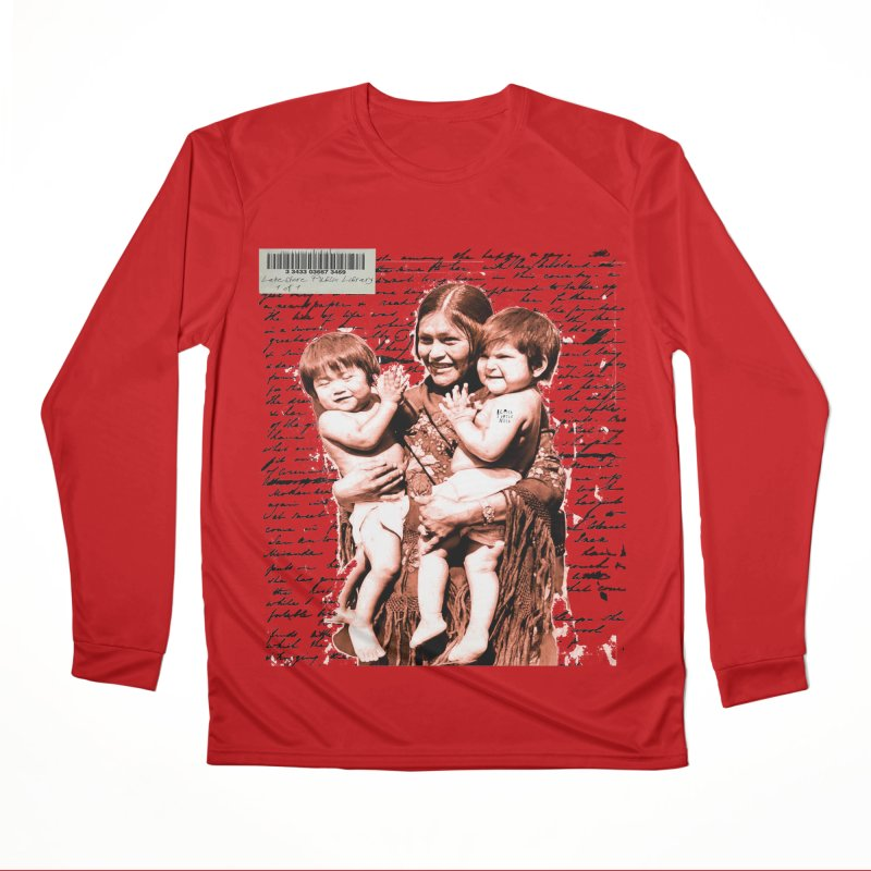 Shannon and her boys. Men's Performance Longsleeve T-Shirt by BLACK TVRTLE NECK