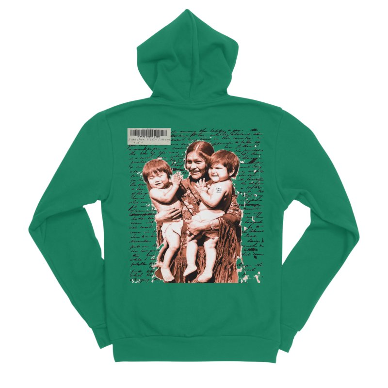 Shannon and her boys. Men's Sponge Fleece Zip-Up Hoody by BLACK TVRTLE NECK