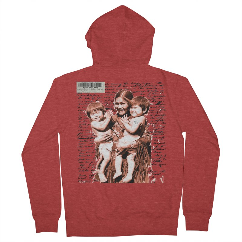 Shannon and her boys. Women's French Terry Zip-Up Hoody by BLACK TVRTLE NECK