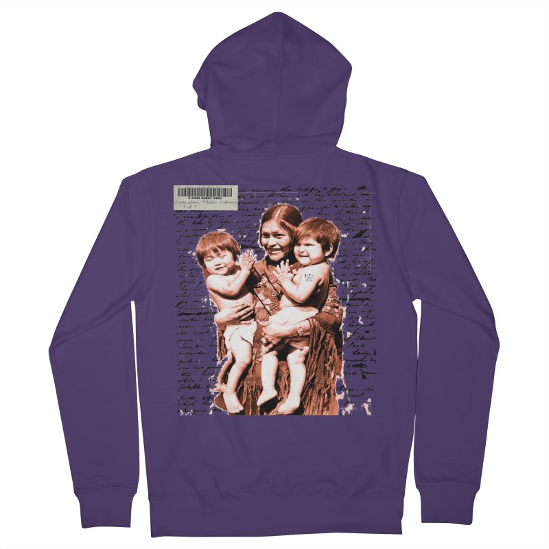 Shannon and her boys. Women's Zip-Up Hoody by BLACK TVRTLE NECK