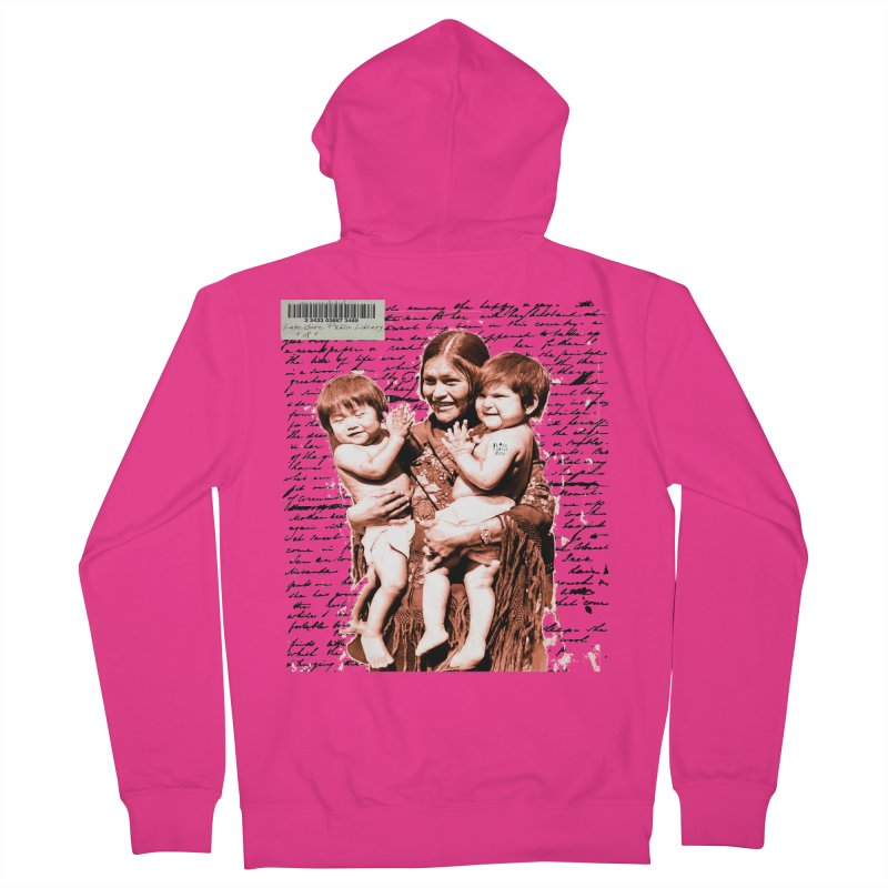 Shannon and her boys. Men's French Terry Zip-Up Hoody by BLACK TVRTLE NECK