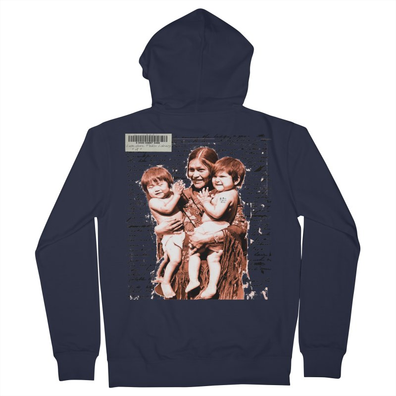 Shannon and her boys. Men's Zip-Up Hoody by BLACK TVRTLE NECK