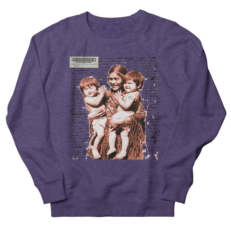 Shannon and her boys. Women's French Terry Sweatshirt by BLACK TVRTLE NECK