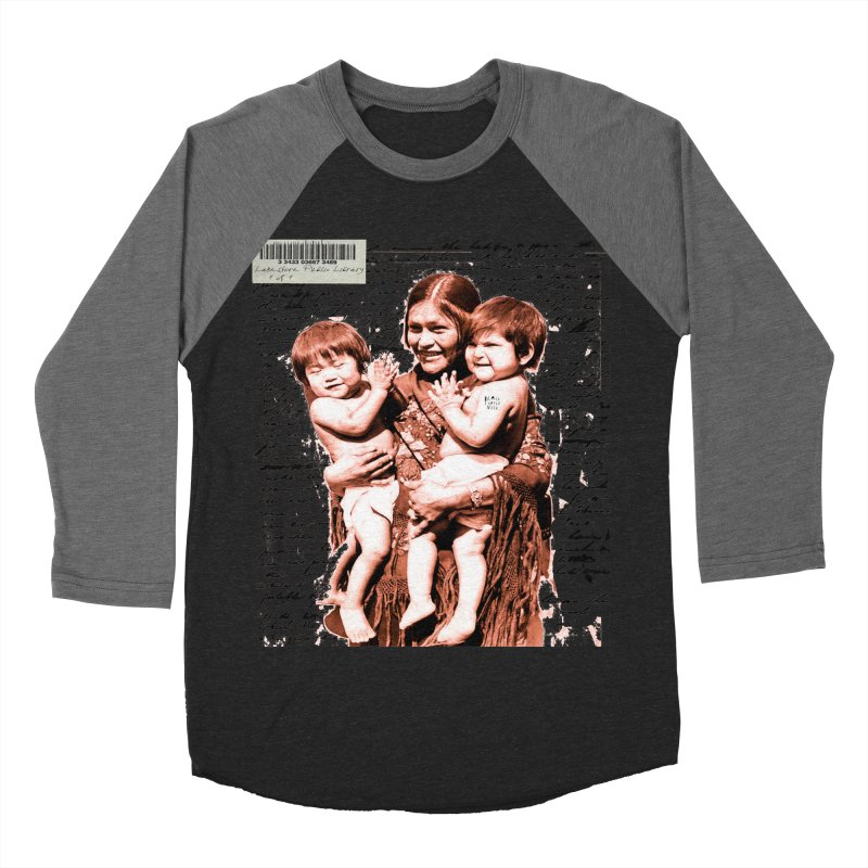 Shannon and her boys. Women's Baseball Triblend Longsleeve T-Shirt by BLACK TVRTLE NECK