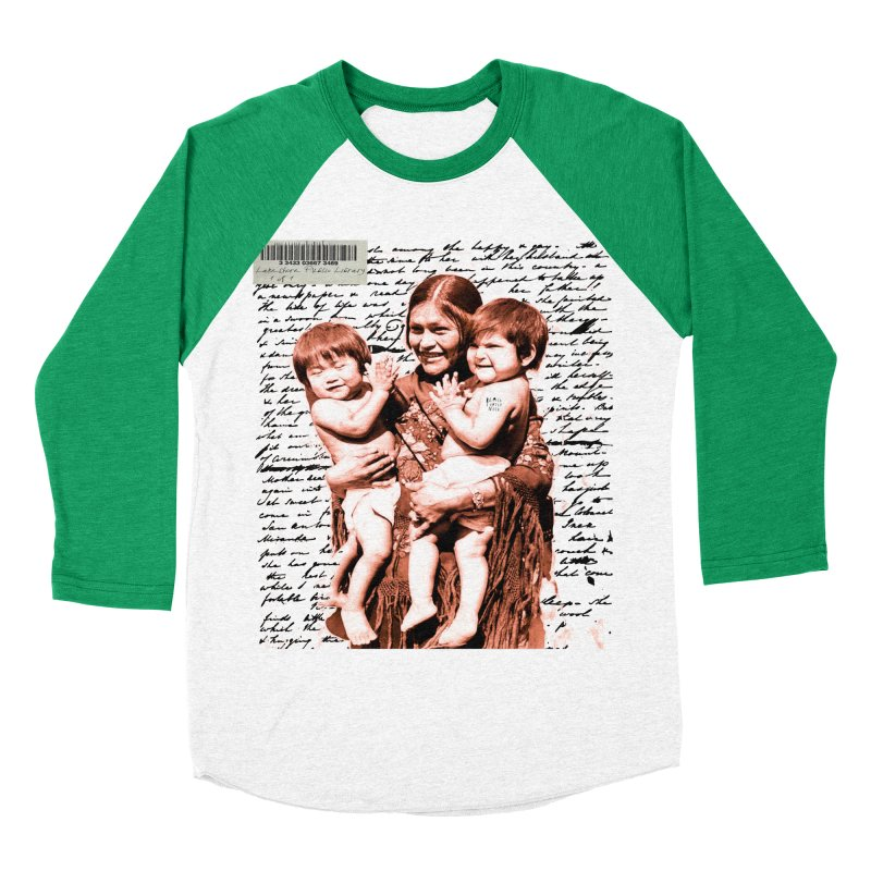 Shannon and her boys. Men's Baseball Triblend Longsleeve T-Shirt by BLACK TVRTLE NECK