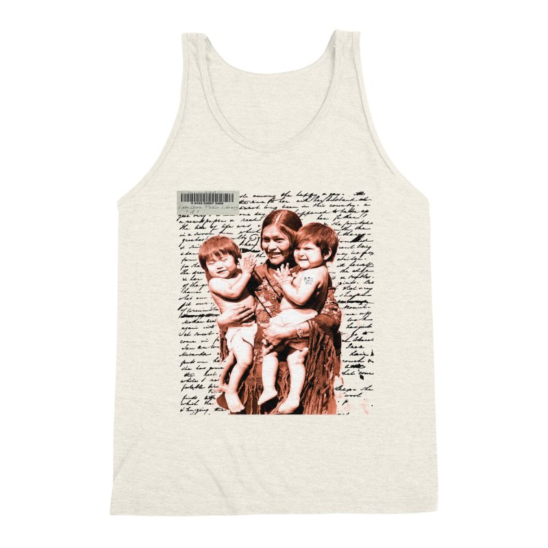 Shannon and her boys. Men's Triblend Tank by BLACK TVRTLE NECK