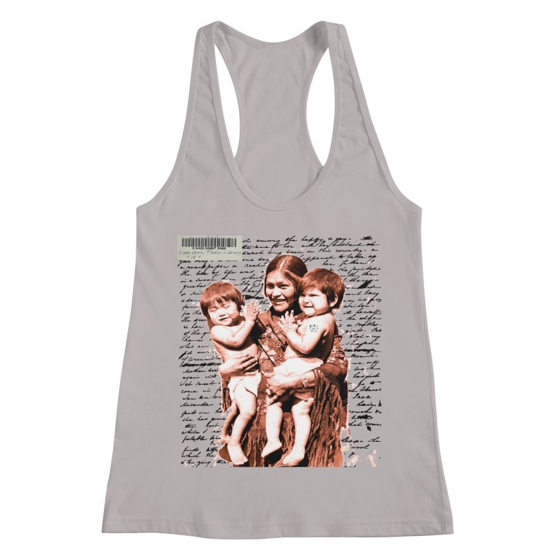 Shannon and her boys. Women's Racerback Tank by BLACK TVRTLE NECK