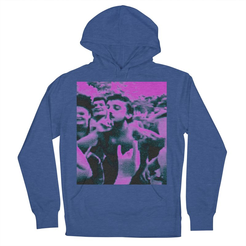 our rez king Men's French Terry Pullover Hoody by BLACK TVRTLE NECK