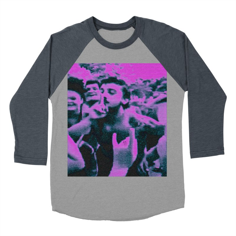 our rez king Men's Baseball Triblend Longsleeve T-Shirt by BLACK TVRTLE NECK