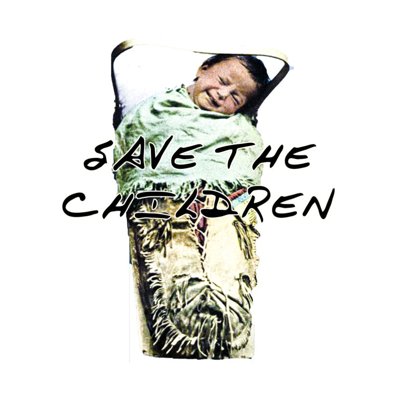 Save the Children Men's T-Shirt by BLACK TVRTLE NECK