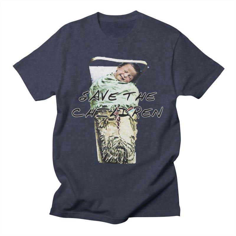 Save the Children Men's T-Shirt by BLACK TVRTLE NECK